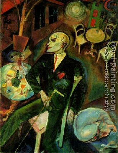 George Grosz : The Lovesick Man